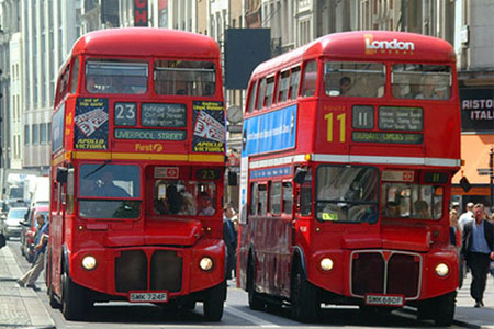 londres autobus bus london moverse guia oyster