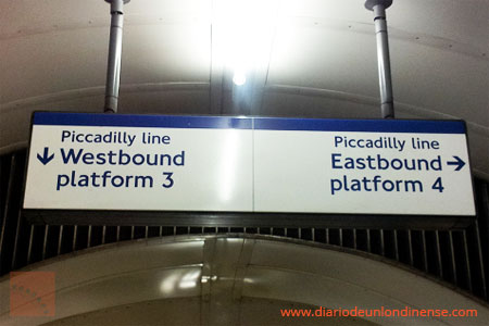 orientarse metro londres eastbound westbound piccadilly
