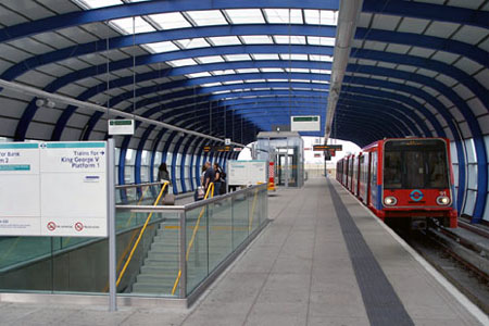 metro dlr aeropuerto london city londres como llegar