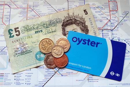 oyster card tariffs tarifas precio saldo metro underground london londres
