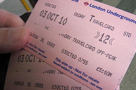 travelcard metro londres