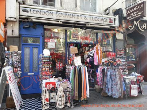 souvenir londres boutique