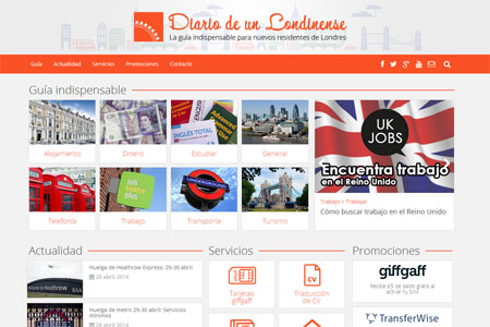 diario de un londinense nueva pagina web