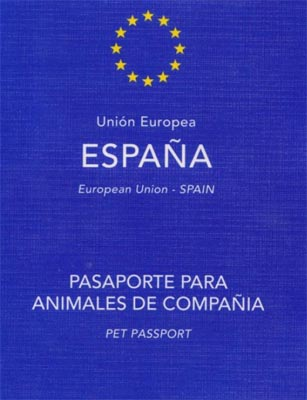 pasaporte animales mascotas pet passport
