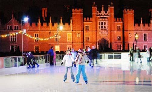 hampton court palace pista patinaje hielo
