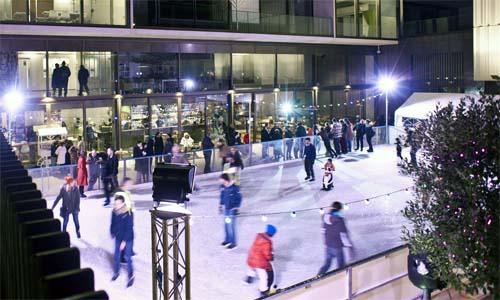 jw3 centre pista patinaje hielo