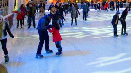 wembley park pista patinaje hielo