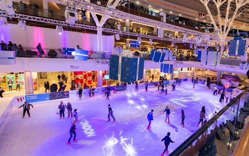 westfield pista patinaje hielo londres informacion