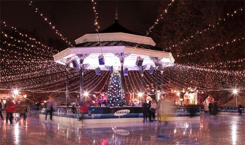 winter wonderland hyde park pista hielo londres informacion