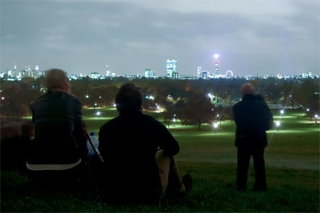 fuegos artificiales londres primrose hill new year london
