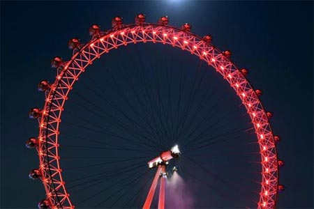 london eye rojo cocacola londres