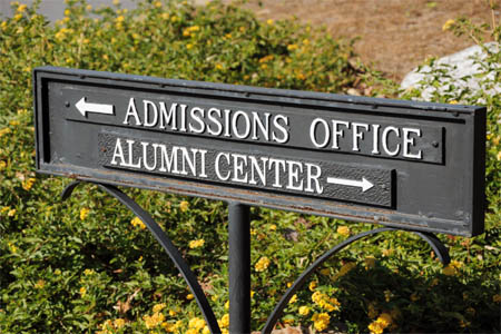 admission office master university