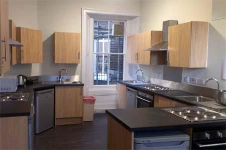 hostel residencia londres cocina compartida