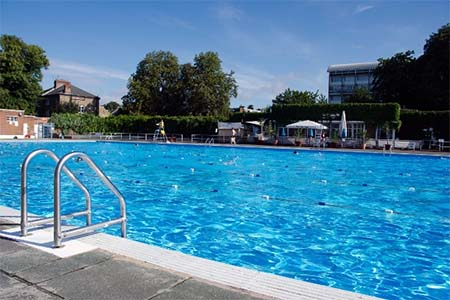 Brockwell Lido piscina londres