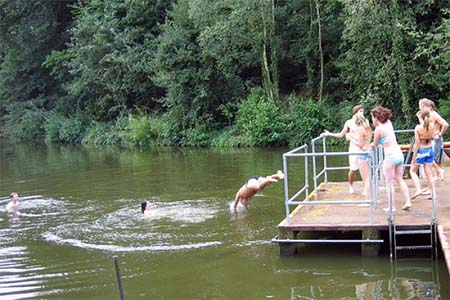Hampstead Heath Swimming Ponds piscina londres