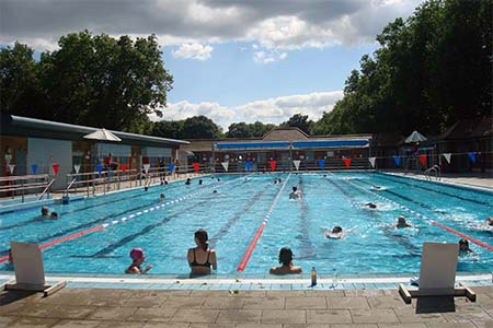 London Fields Lido piscina londres