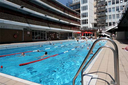 Oasis Sports Centre piscina londres