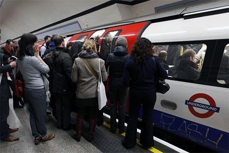 metro londres robo carteristas
