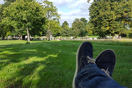 dia soleado londres hyde park