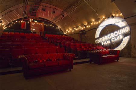 underground film club peliculas metro londres