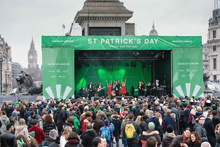st patrick parade festival london