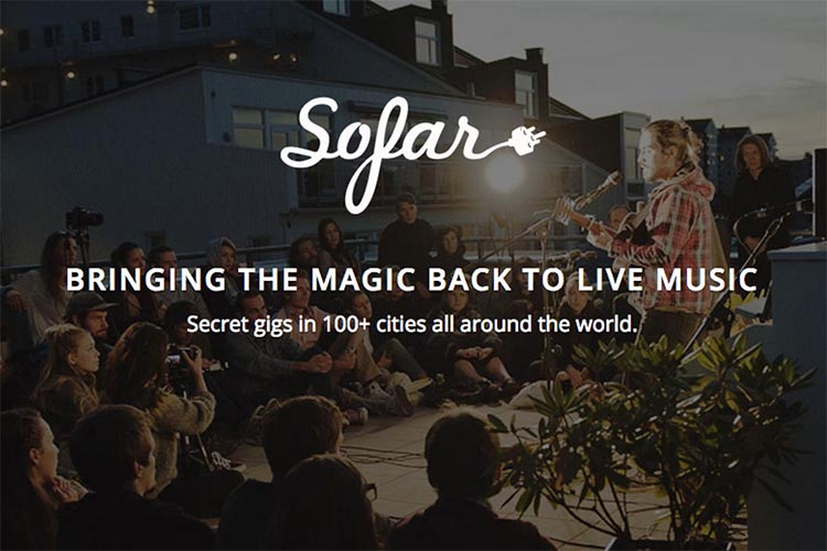 sofar london conciertos casa gratis londres