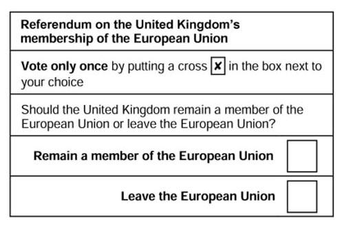 pregunta referendum brexit reino unido europa