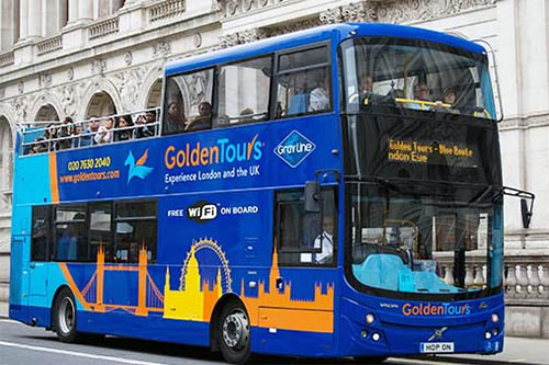 golden tours london pass hop on tourist bus