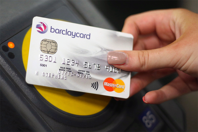 contactless oyster london