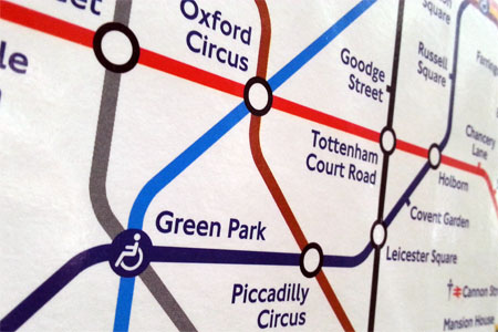 mapa metro londres tutorial precio tarifas oyster tube london