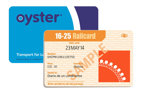 16-25 railcard oyster card londres descuentos ahorro