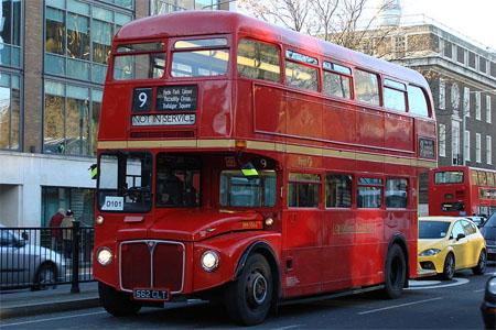 autobuses routemaster londres rutas gratis