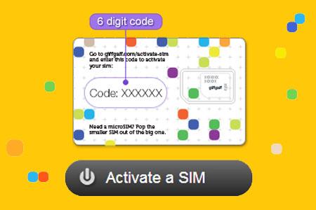 activar sim giffgaff activate instrucciones tutorial manual diario londinense