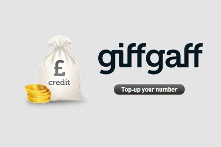 giffgaff recargar saldo top-up tutorial instrucciones sim