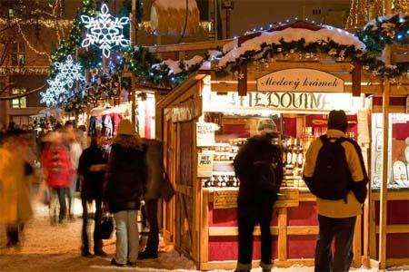 feria mercado navidad londres