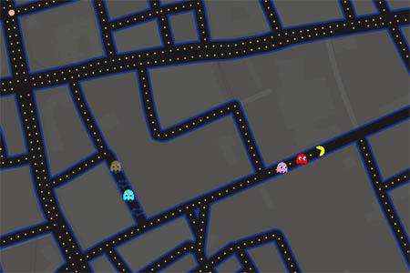 pacman londres google maps